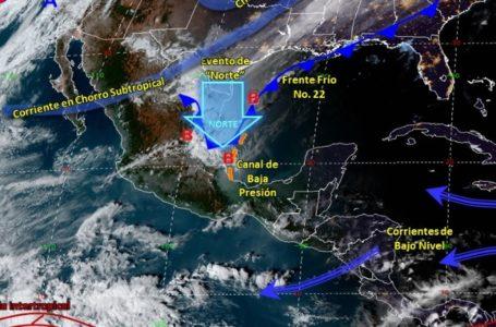 📹Descenso de temperaturas en gran parte del país por Frente Frío 22: SMN