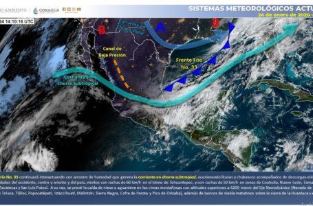 📹Ingresa Frente Frío 35 a zona noroeste de México
