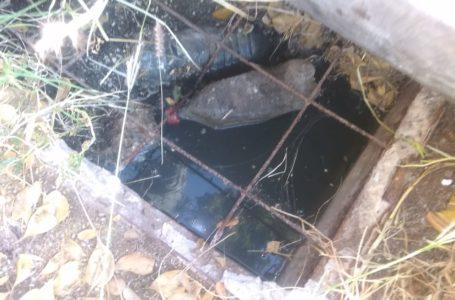Denuncian drenaje colapsado en Las Huertas