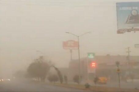 No es polvo del Sahara, tolvanera de hoy en Torreón: CONAGUA
