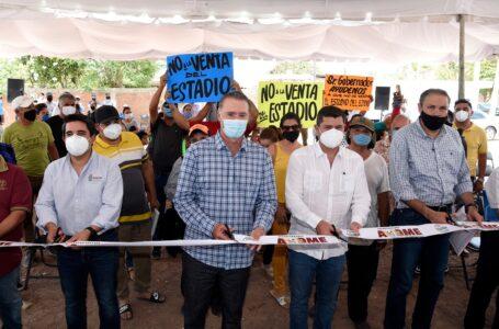 Inauguran colectores Zacatecas, Degollado y Niños Héroes de Los Mochis