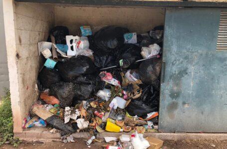 Hace 15 días que no recogen la basura en Las Villas, denuncian