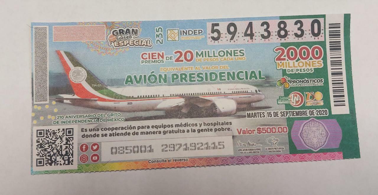 Hospital Integral de San Ignacio, de los ganadores de la rifa del avión