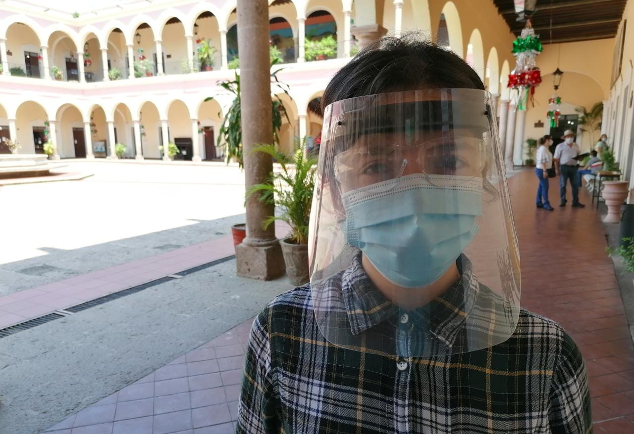 Mantienen protocolos sanitarios en oficinas públicas de El Fuerte