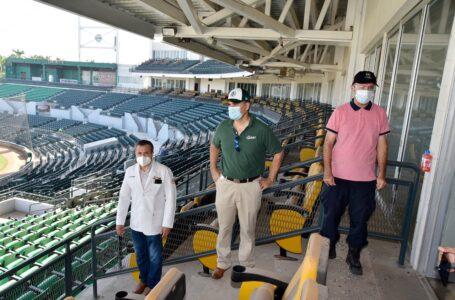 Supervisan protocolos en estadio EIA previo a inicio de la temporada