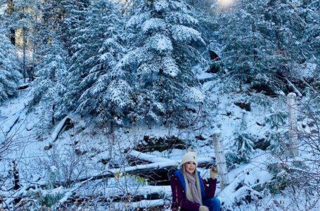 Paisajes nevados como de cuento en Badiraguato
