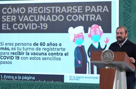 ¿Tienes más de 60 años?, aquí detalles de registro para recibir vacuna contra COVID