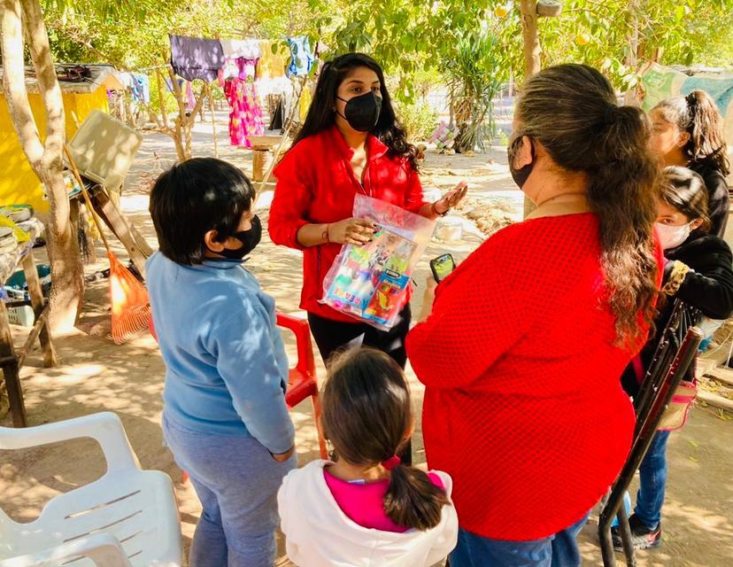 Promueven valores en niños fortenses