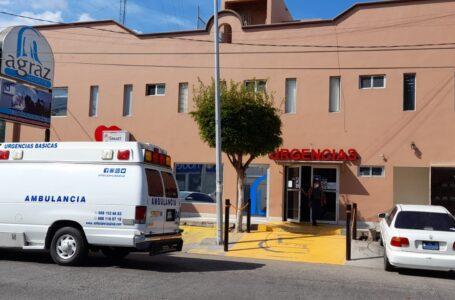Sufren pacientes suspensión de servicio de energía en Hospital Agraz