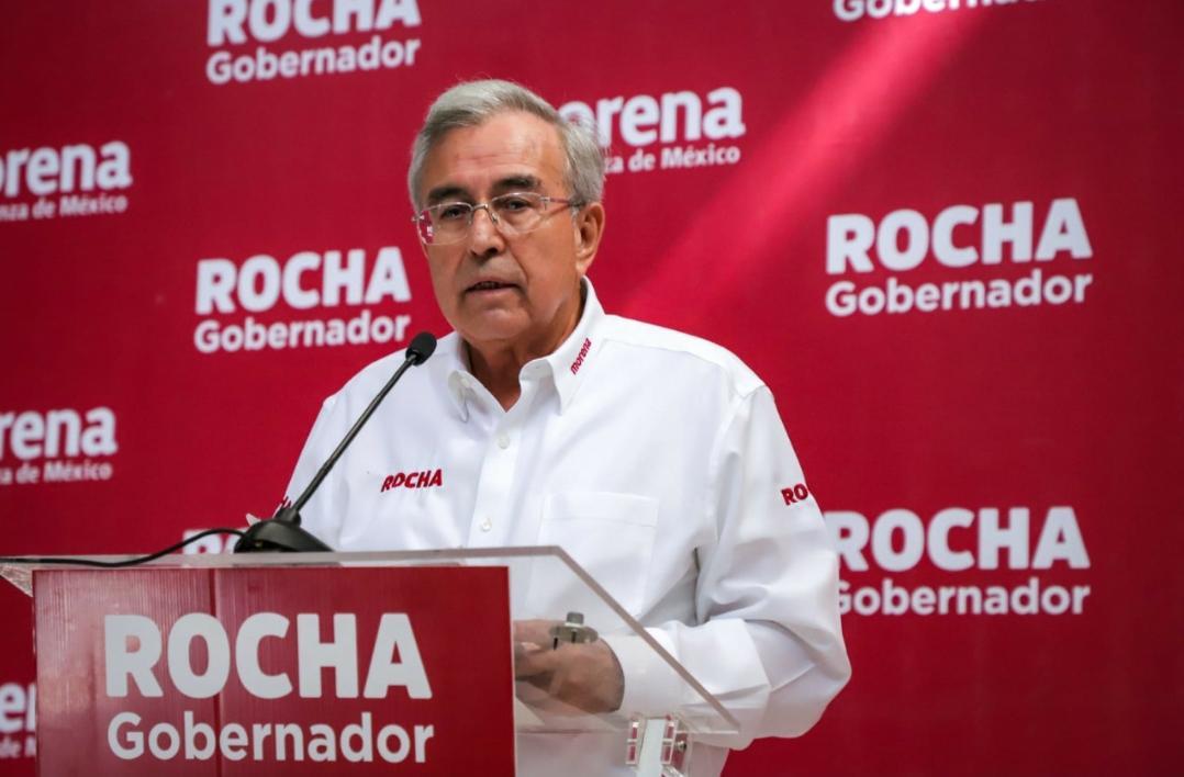 Presenta Rubén Rocha Moya propuestas de gobierno