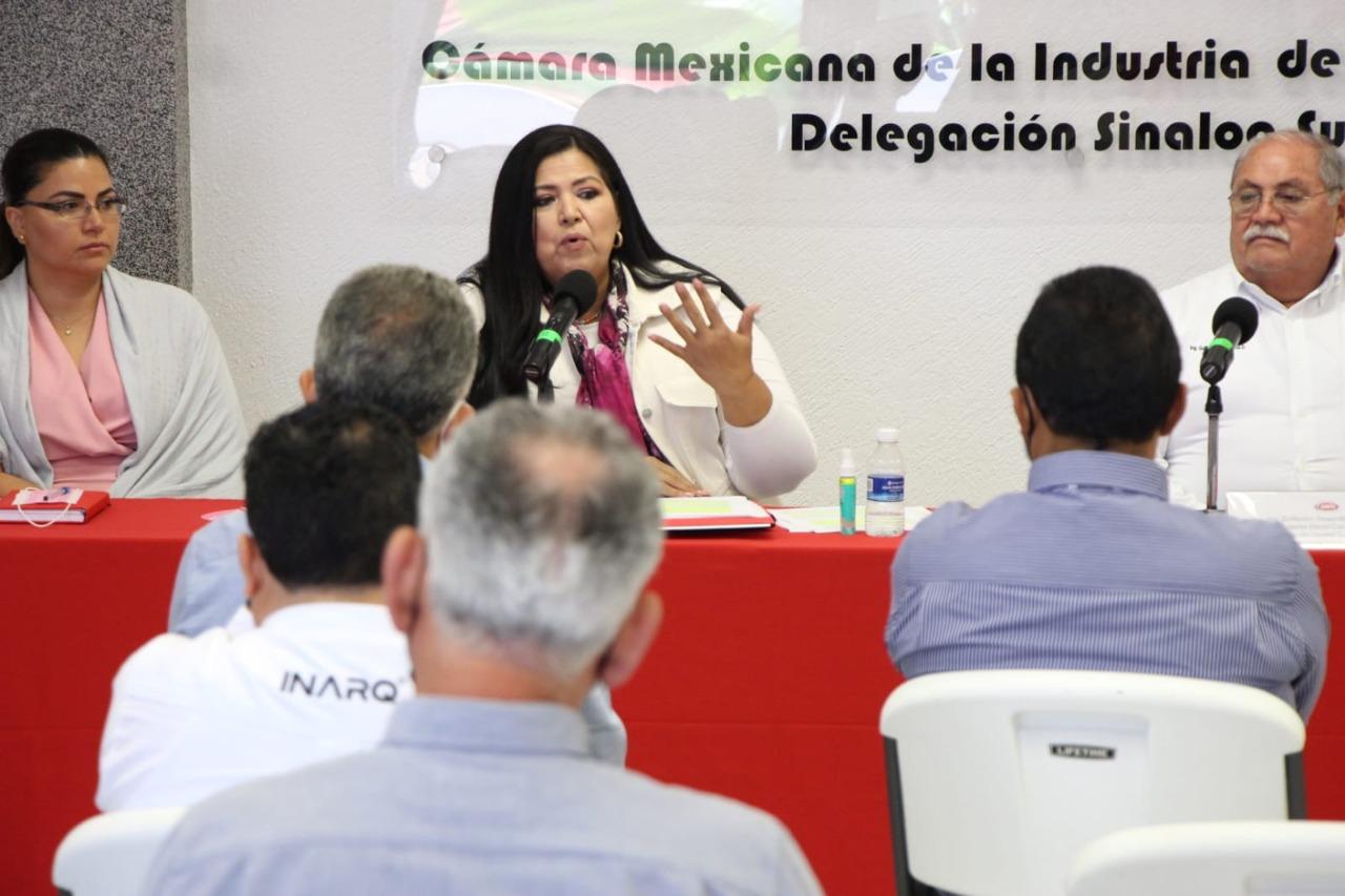 Rosa Elena Millán compromete crear Fondo de Inversión Pública y Privada para fortalecer obra pública
