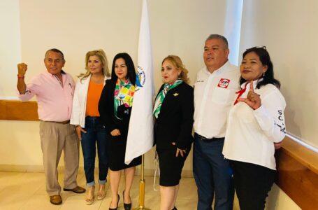 Realizan mujeres empresarias panel con candidatos y candidatas a la diputación federal distrito 02
