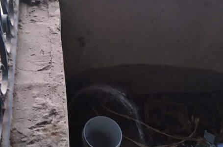 FUGA: Se desperdicia el vital líquido en tiempo de sequía, reportan en La Estrella