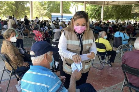 A partir del 15 de junio segunda dosis a personas de 50 y más en zona rural de Ahome