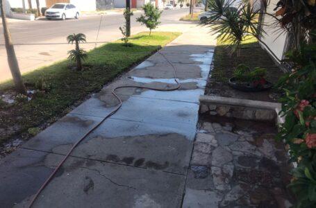 Arriba de 100 reportes por derroches de agua en Ahome, sanciones van desde 4 mil hasta 17 mil pesos