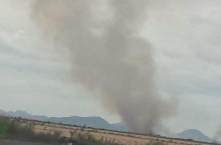 Denuncian quema de soca en el valle del Carrizo