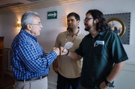 Se reúne Rocha Moya con presidentes de clubes de la LAMP