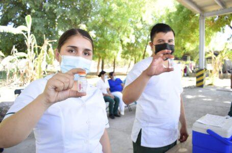 Hoy vacunación en Higuera, La Arrocera y Estero de JJR