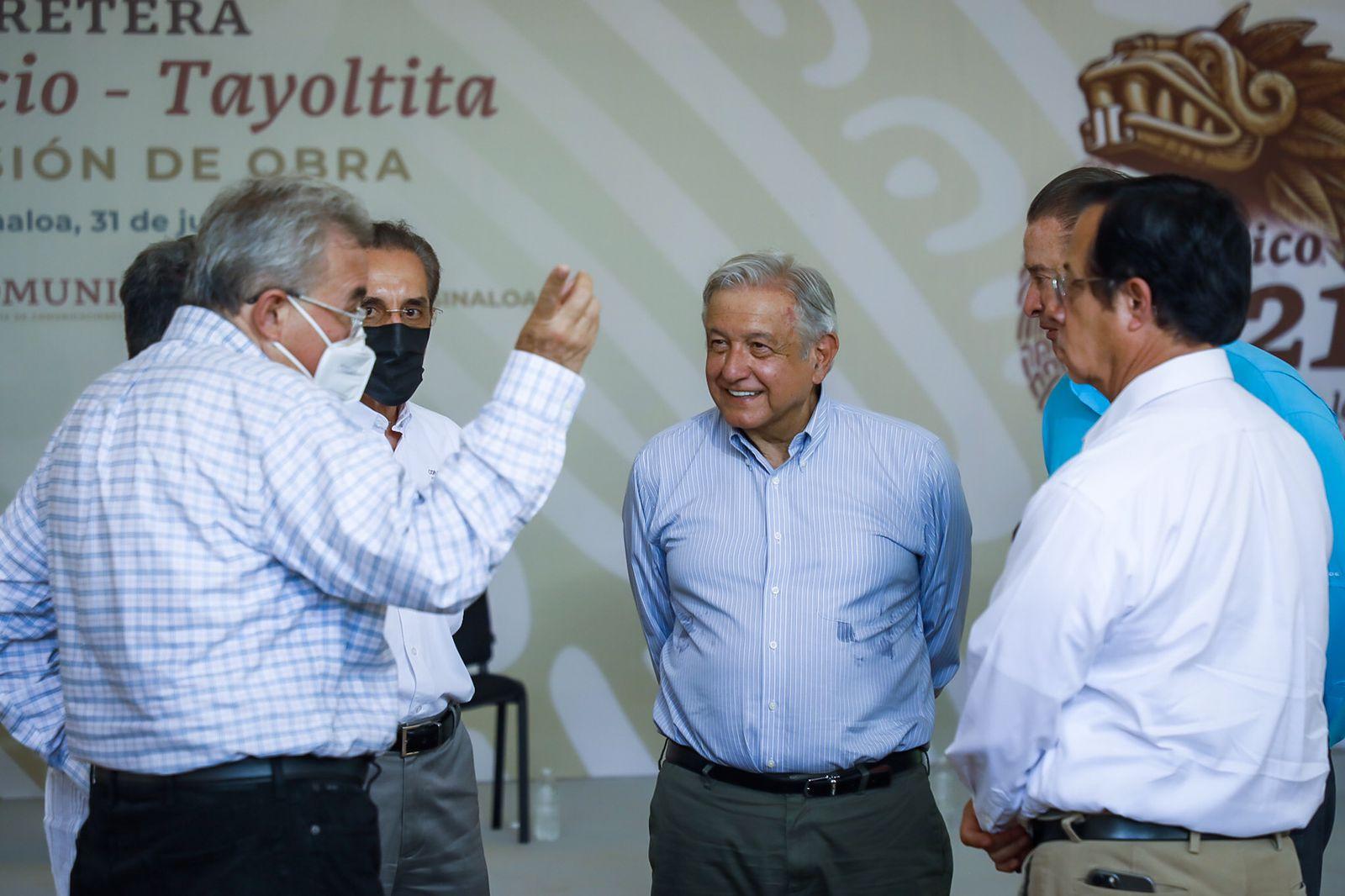 Alienta a Rocha Moya que AMLO destaque ampliación conjunta de programas sociales
