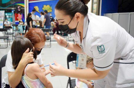 Vacunarán a menores de 8 años para completar esquema en Plaza Paseo