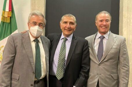 Gestionan Rocha y Quirino con titular de Segob recursos para cierre de año en Sinaloa